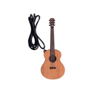 گردنبند چوبی گیتار